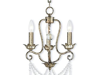 Livex Lighting 51953 Sophia 3 Light 13 Wide Candle Style Chandelier