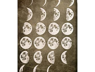 Hatcher & Ethan Hatcher and Ethan Lunar Phases Canvas Wall Art - HE15188_40X60_CANV_XXHD_HE