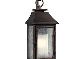 Feiss Shepherd 25.63 Outdoor Wall Sconce in Heritage Copper