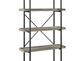 Walker Edison WE Furniture 68 Urban Pipe Bookshelf - Driftwood