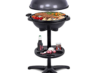 Costway 1350 W Outdoor Electric BBQ Grill with Removable Stand