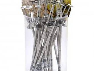 CybrTrayd R&M Stainless Steel Pickle Pickers (Bucket of 24), Multicolor