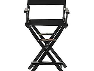 Yu Shan 30 Directors Chair Black Frame - Black Canvas