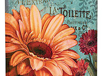 Stupell Industries Stupell Home Décor Colorful Daisies with Antique French Backdrop Stretched Canvas Wall Art, 17 x 1.5 x 17, Proudly Made in USA