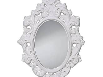 Feiss Resplendent Hi Gloss White - Mirror