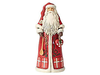 Enesco Jim Shore Heartwood Creek Danish Santa Around The World Figurine, 7, Multicolor