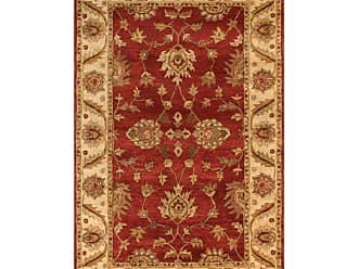 Noble House Golden Area Rug - Red/Beige, Size: 8 x 11 ft. - GOLD805811