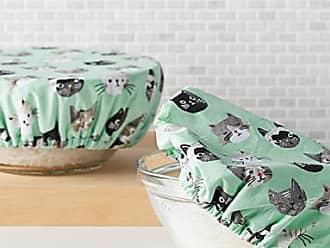 Danica Studio Little kittens bowl covers Set of 2