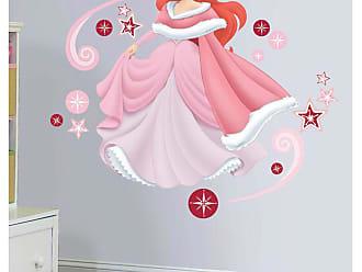 RoomMates Adesivos de Parede RoomMates Colorido Ariel Holiday Add-On Wall Decals