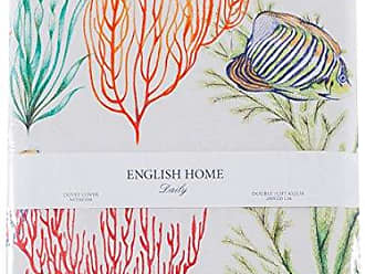 english home koralle underwater 200x220cmco bettwasche baumwolle 220 x 200 cm