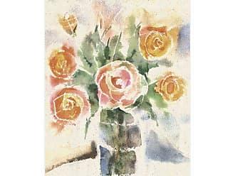 Ptm Images Aquarela Flower Decorative Canvas Wall Art - 9-127984