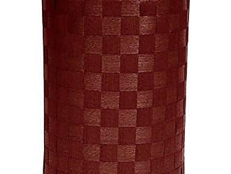 Oriental Furniture 26 Natural Fiber Laundry Hamper - Mahogany