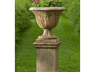 Campania International Palais Arabesque Cast Stone Urn Planter