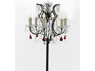 Harrison Lane T204-SP-104/B98 6 Light 35 Tall Tree Table Lamp Black