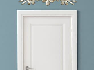Stratton Home Decor Champagne Flower Over the Door Wall Sculpture - S07705