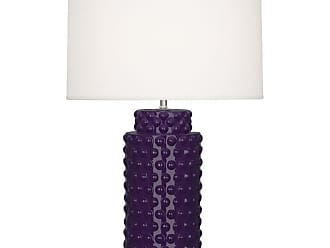 Robert Abbey Lighting Store Dolly TL Dolly 28 Column Table Lamp with a Fondine