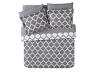 VCNY Home VCNY Galaxy 8-Piece Bed in a Bag, Queen, Gray