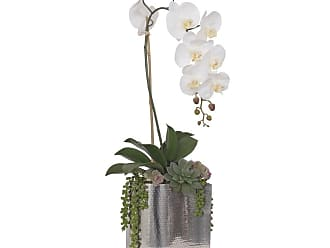 Restaurant Orchid Mix GPB730-ORCHID MIX Wedding /& Office Decoration Arrangement Admired By Nature 7 Stems Artificial Full Blooming Stain Hydrangea for Home