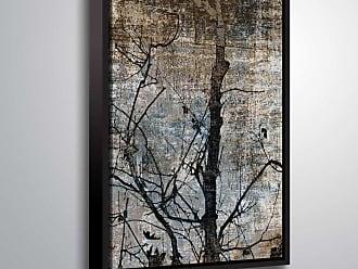 Brushstone In Silence VI Wall Art Framed - 6ARY067A0810F