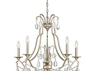 Quoizel REG5005 Regent 5 Light 26-1/2 Wide Chandelier Vintage Gold
