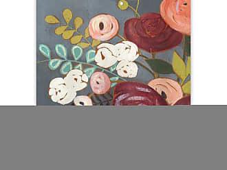 Gallery Direct Wistful Bouquet II Hand Embellished Canvas Wall Art - 86323EC000