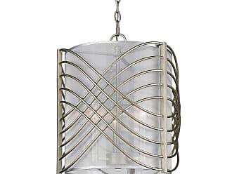 Golden Lighting 5516-3P-SHR Zara 3 Light Multi Light Pendant with