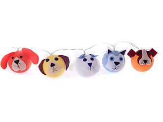 Cormilu Luminária Decorativa Cães - Pilha Cormilu Azul