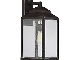 Savoy House Brennan Outdoor Wall Lantern in English Bronze with Gold