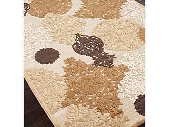 Jaipur Living Rugs Jaipur Fables Wistful Transitional Floral Pattern Viscose/Chenille Rug Cream & Green, Size: 9 x 12 ft. - RUG101612