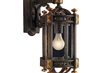 Fine Art Lamps 564581ST Beekman Place Single-Light Outdoor Wall Sconce