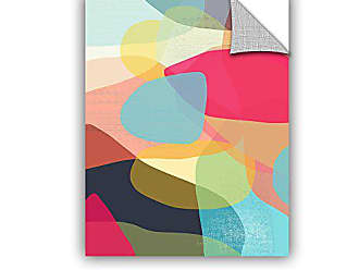 ArtWall Jan Weisss Layered Earth One, Removable Wall Art Mural 14X18