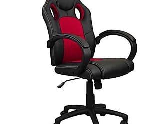 Pelegrin Cadeira Presidente Gamer em Couro Pu Preta com Vermelho Pelegrin Pel-3002