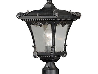 Vaxcel Castile T0158/0161 Outdoor Post Light, Size: 9 in. - T0158