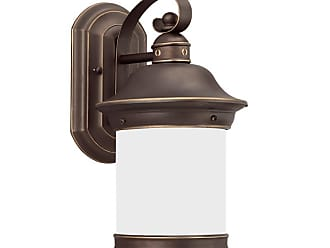 Sea Gull Lighting 89181 Hermitage Single Light 7 Wide Outdoor Wall