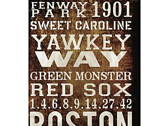 Hatcher & Ethan Boston Red Sox Canvas Wall Art - HE10792_40X60_CANV_XXHD_HE