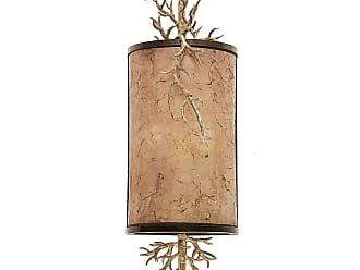 Kalco Oakham 2-Light ADA Wall Sconce in Bronze Gold