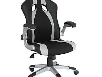 Rivatti Cadeira Gamer Speed Preta e Prata