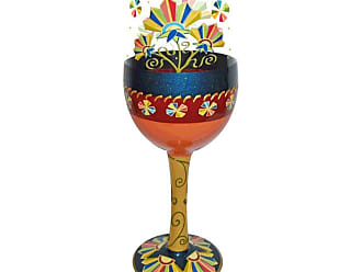 Gift Essentials 15 oz. Deco Floral Wine Glass - WGDECOFLORAL
