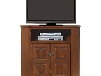 American Heartland 41.5 in. Poplar Corner TV Stand - Assorted Finishes - 95734EAM