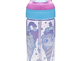 Zak designs 6822-T340 Riverside Water Bottles, 16 oz, Ice Cream Cones