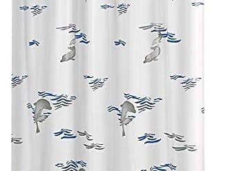 Ridder 403303/ Textil, pl/ástico, Azul, 200/x 180/cm /Cortina de Ducha /00/