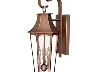 Vaxcel Lighting T0120 Preston 3 Light 6 Wide Outdoor Wall Sconce with