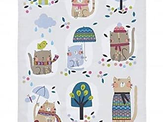 Ulster Weavers s Cozy Cats Styled Cotton Tea Towel