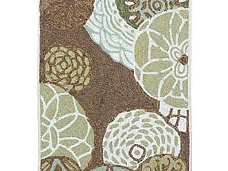 Liora Manne RVL23206419 Ravella Garden Flower Dance Rug Disco Indoor/Outdoor Rug 2 X 3 Driftwood Blue