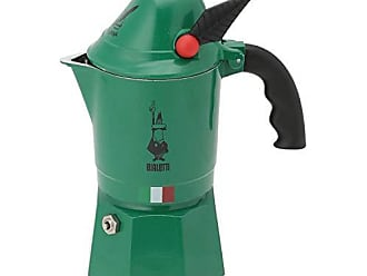 Bialetti Pressofiltro capacit/à 1 Litro Verde Caffettiera Pressofiltro