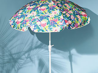 Anthropologie Gables Floral Outdoor Umbrella