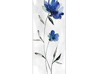 Portfolio Canvas Decor Portfolio Décor Gallery Wrapped Canvas Wall Art, 12x36 Beautiful Blue I by Carol Robinson 12 x 36