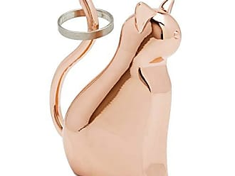Umbra Anigram Cat Ring Holder for Jewelry, Copper