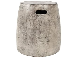 Dimond Home Hive Stool In Polished Concrete