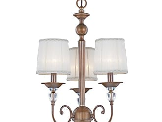 Eurofase Lighting 20301 Locksley 3 Light 18 Wide Crystal Chandelier